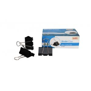 Saya SYB41 Binder Clip Extra Large, Weight: 177 g (Pack of 12)