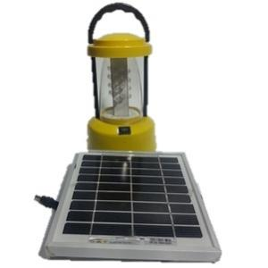 Deltron 3W Solar Lantern with Solar Panel & Mobile Charger, SLLP-36(M)