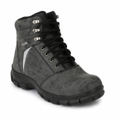 Timberwood TW21 Grey Steel Toe Safety Boot, Size: 6