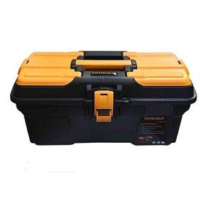 Taparia 195x240x435mm Plastic Tool Box with Organizer, PTB 16