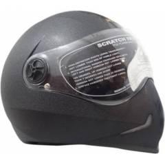 Steelbird Adonis Black Full Face Helmet, Size (Medium, 580 mm)