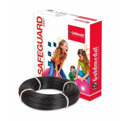 Goldmedal 90m 1.5 Sq mm Black FR PVC Wire