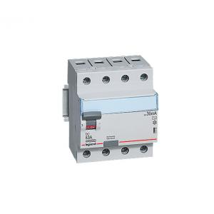 Legrand 25A DX³ 4 Pole RCCBs for AC Applications, 4118 86