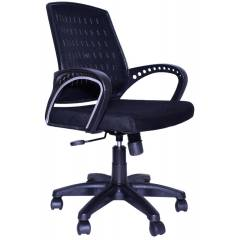 Regent Seating Collection Black Net Smart Chair