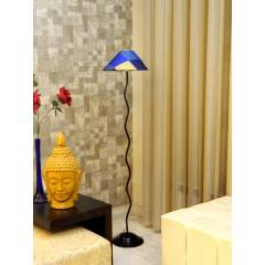 Tucasa Floor Lamp with Printed Shade, LG-612, Weight: 1100 g
