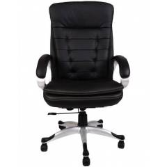 Mezonite Black High Back Leatherette Office Executive Chair