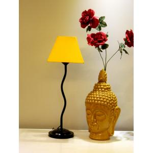 Tucasa Table Lamp with Square Shade, LG-162, Weight: 600 g