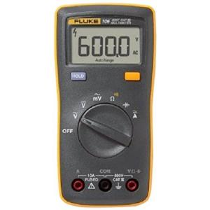 Fluke 106 Palm Sized Digital Multimeter, 6000 Counts, 40 Megaohms
