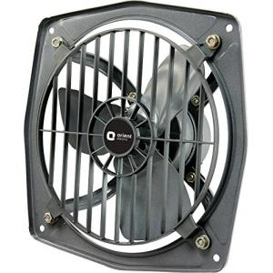 Orient 1300rpm Hill Air Black Exhaust Fan, Sweep: 225 mm