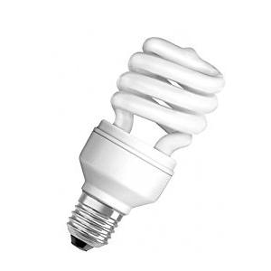 Osram MINITW 12W White Mini Spiral E-27 CFL (Pack of 3)