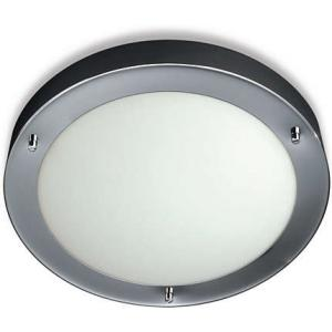 Philips 1x60W Chrome Ceiling Lamps, QCZ802 (Pack of 2)