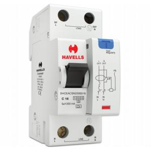 Havells Euro-II 16A SPN A Type RCBO, DHCEACSN2300016