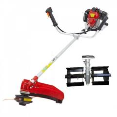 Greenleaf 1.25kW 2 Stroke Brush Cutter with Tiller Attachment