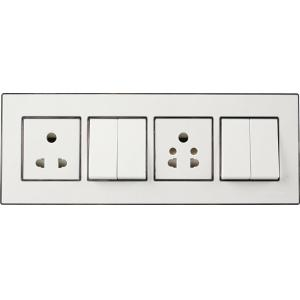 Havells Murano 8 Module Cover Plate, ACMPLCWS08