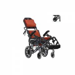 Karma 16 Inch Tilt In Space Manual Wheel Chair, VIP-515