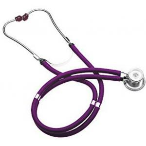Shakuntla Pluss Rappaport Purple Dual Head Stethoscope Convertible Chest-Piece