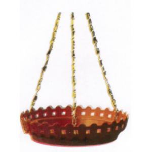 Garden Aids 10 Inch Hanging Designer Tray With Metal Chain, AP-103