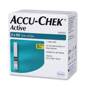 Accu-chek Active Test Strips (100 Strips)