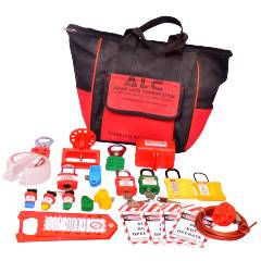 Asian Loto Electrical Safety Lockout Tagout Kit, ALC-KT 5