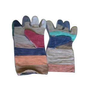 Tee Pee 14 Inch Colour Leather Hand Gloves (Pack of 10)