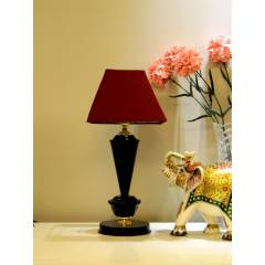 Tucasa Table Lamp with Square Shade, LG-383, Weight: 700 g