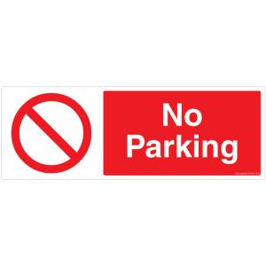 Safety Sign Store No Parking Sign Board, PB105-1442V-01