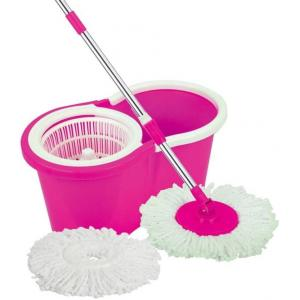 Skyclean Pink Easy Magic Mop with Two Mop Heads, BFM-HC-005