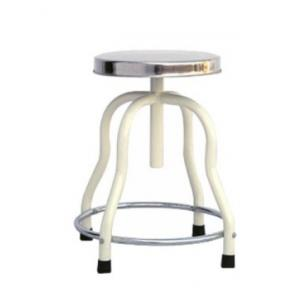 Tripti TS-085 Patient Stainless Steel Top Revolving Stool