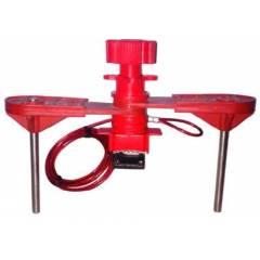 Asian Loto ALC-VLU-2 Universal Valve Lockout-With Double Arm