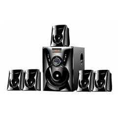 I kall TA-111 BT 5.1 Channel Black Bluetooth Speakers