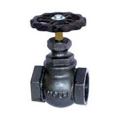 Mala Cast Iron Screwed Globe Valve, MM-301, Size: 1 1/4 Inch
