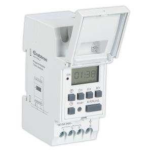Crabtree Digital Weekly Programmable Time Switch, DCTAW01016