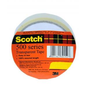 3M 12mm Transparent Small Tapes (Pack of 30)