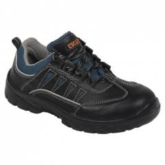 Mallcom Tiglon 3300 Low Ankle Steel Toe Safety Shoes, Size: 4