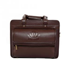 Abloom 1505 Dark Brown Synthetic Leather Laptop Bag