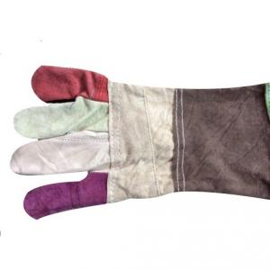 Shiva Multicolor Leather Hand Gloves (Pack of 10)