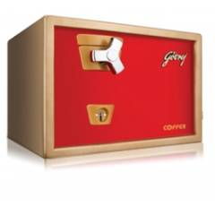 Godrej Premium Coffer V1 Red Brown And Red Safe