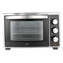 Black+Decker 19 Litre Black & Grey Oven Toaster Grill, BXTO1901IN