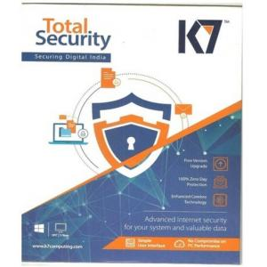 K7 Total Security 2017 New Slim Pack, 1 PC, 1 Year