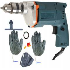 Tiger TGP10 10mm Electric Drill Machine with 1 Tape, 1 Mask, 1 Ear Plug & 1 Pair Safety Gloves