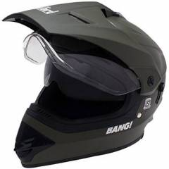 Steelbird SB-42 Black Full Face Helmet, Size (Large, 600 mm)