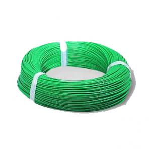BCI 90m Green PVC Insulated Flexible Copper Conductor Unsheathed Cable, 0.75 Sqmm