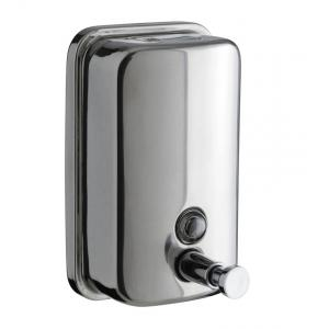 Home Decor Stainless Steel Liquid Soap Dispenser, HDDISP6, Capacity: 1000 ml