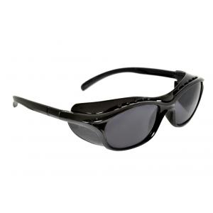 Pavo Aves Black Lens Black Safety Goggles (Pack of 12)