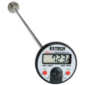 Extech Flat Surface Stem Dial Thermometer, 392052