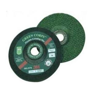 3M Green Corps Flexible Grinding Disc, Grit 60