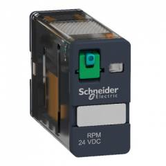 Schneider 15A 230VAC Plug in Power Relay With LED, RPM12P7