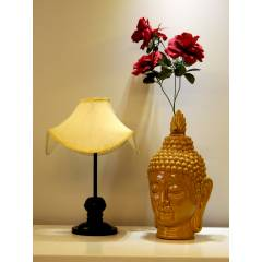 Tucasa Table Lamp with Designer Shade, LG-353, Weight: 550 g