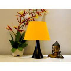 Tucasa Table Lamp with Oval Shade, LG-300, Weight: 300 g