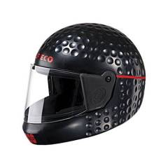 Studds Golf Eco Black Full Face Helmet, Size: L